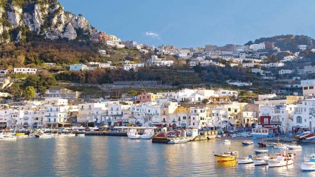 Vista da anacapri - Viaggi, vacanze e turismo: Turisti per