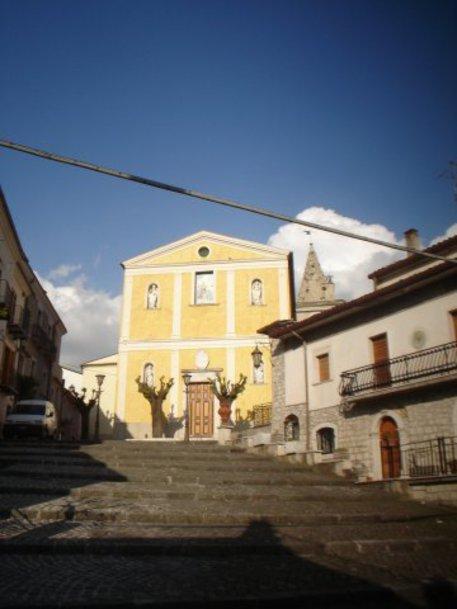 FORLI' DEL SANNIO (ISERNIA) - chiesa di San Biagio.