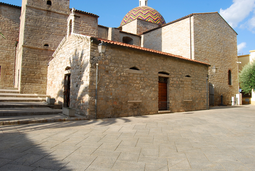 The church of Olbia - Sardinia - Italy - 487